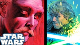 Leia Leads Luke Into a TRAP Without Him Knowing(CANON) - Star Wars Comics Explained
