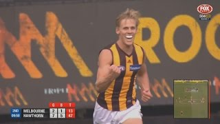 AFL 2017: Round 7 - Hawthorn highlights vs. Melbourne