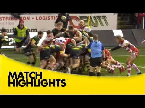 Northampton Saints V Gloucester Rugby - Aviva Premiership Rugby 2017-18