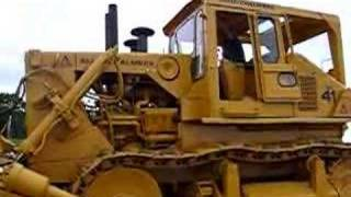 Allis Chalmers HD-41, starting