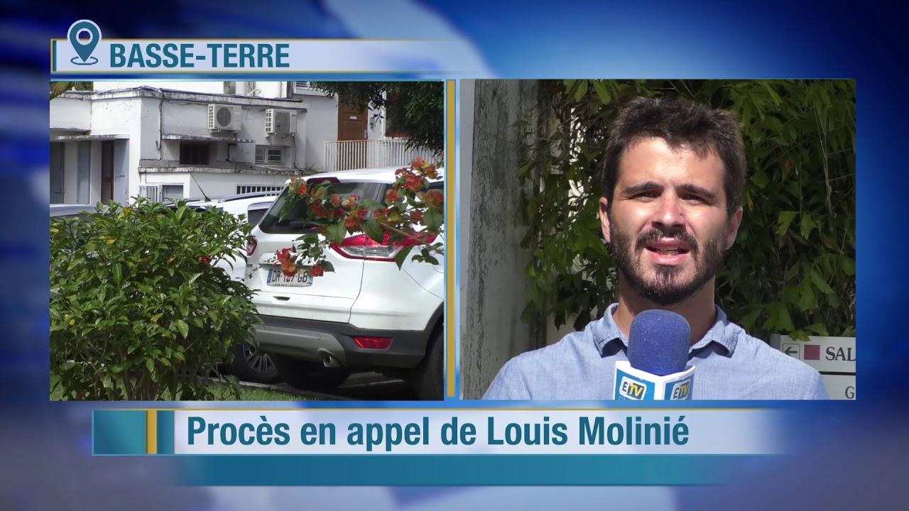 30 mois de prison ferme requis contre Louis Molinié