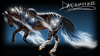 SpeedPaint: Dark Bay Fantasy Mare Thumbnail