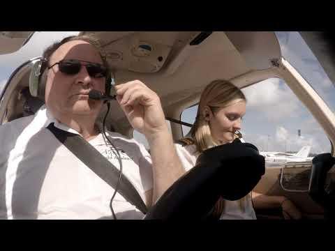 Commercial Pilot Maneuvers (FULL FLIGHT) | Epic Flight Academy | Female Pilot