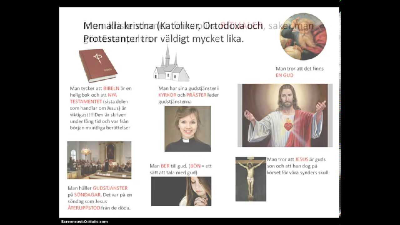 Kristendom - årskurs 4