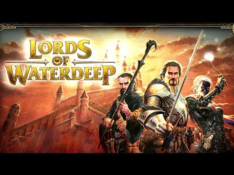 Lords of Waterdeep Gameplay Impressions - Board Game Love!!