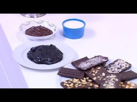 شوكولاتة قابلة للدهن - شوكولاتة - شوكولاتة بيضاء - صوص شوكولاتة: على قد الإيد (حلقة كاملة)