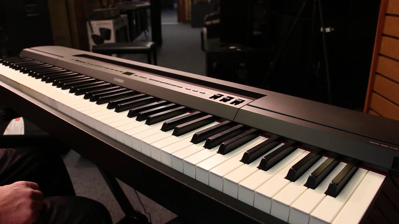 A compact digital piano with a modern stylish design, p-105 is ideal for home, stage and studio use. The colors and finishes shown may vary from those on the.