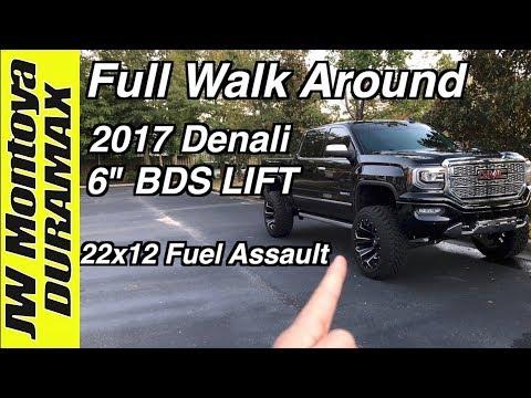 """2017 Denali   6"""" BDS   22x12 Fuel Assault   Toyo MT 35s"""