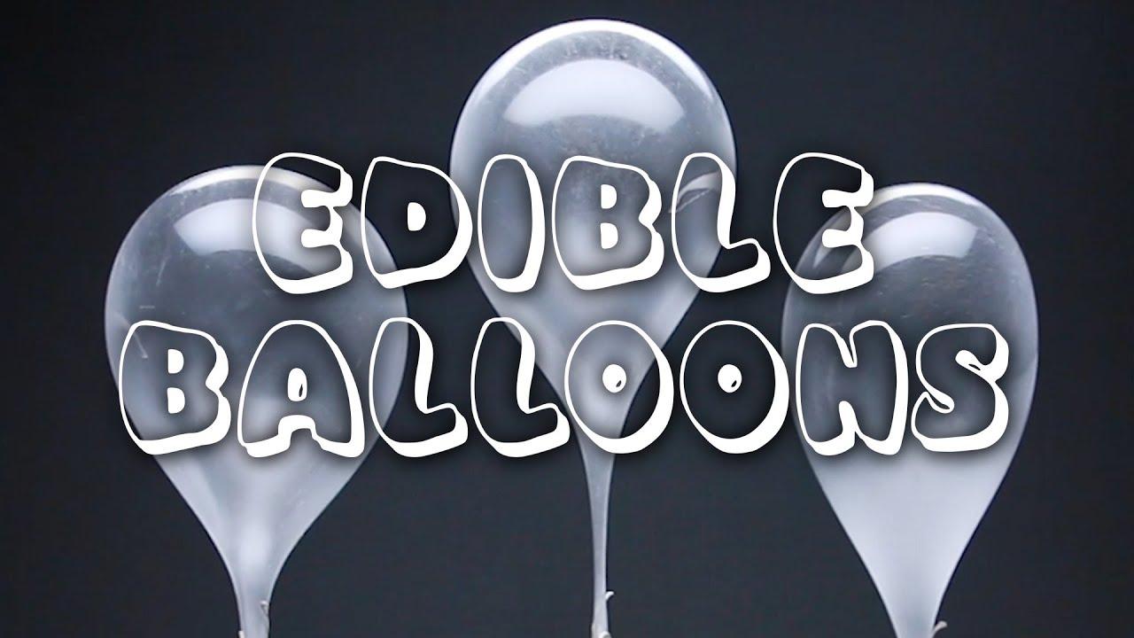 maxresdefault - Restaurant Vs. Homemade: Edible Balloons