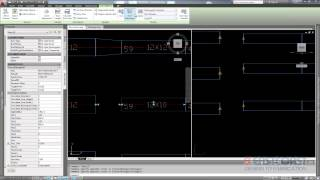 Autocad MEP Flow Arrow for Transitional Duct Fittings