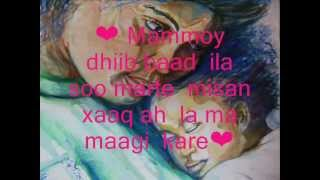 Hooyo macaan Lyric version 2012 • •   YouTube