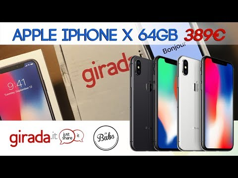 Apple iPhone X a 389€ - Unboxing #3