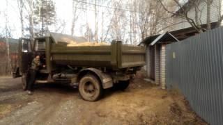Доставка карьерного песка в Ногинске(, 2017-04-15T16:29:23.000Z)