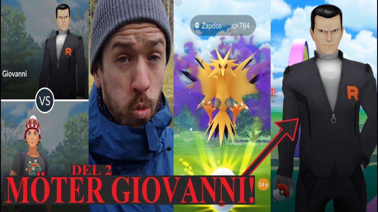 Pokémon GO på Svenska | MÖTER GIOVANNI! + SHADOW ZAPDOS CHANS + MER! | Johans Pokemon GO