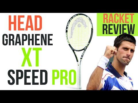 Head GRAPHENE XT SPEED PRO REVIEW/TEST I Novak Djokovic