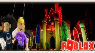 Nouveau feu d'halloween! 😱 I Roblox disney wales [Dreamland] I Rebeccas creations - mr monkey