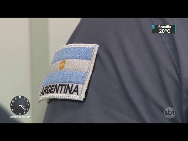 Resultado de imagem para policiais argentinos Santa Catarina
