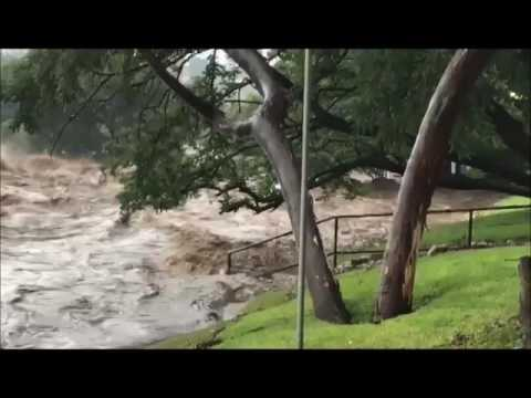 Floods in Linksfield, Johannesburg
