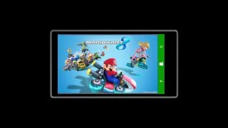 MARIO KART  windows phone 8.1 lumia 530