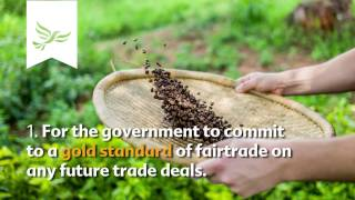 Enjoy a Fairtrade Break with Sarah Olney and Tom Brake