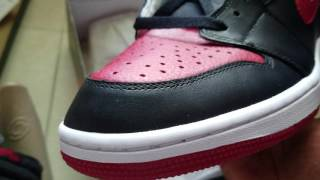 $137.00 retro 1 banned (Dhgate) review