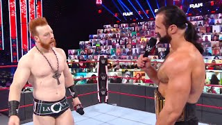 Find out the fallout of Drew McIntyre s conflict with Sheamus this Monday on Raw