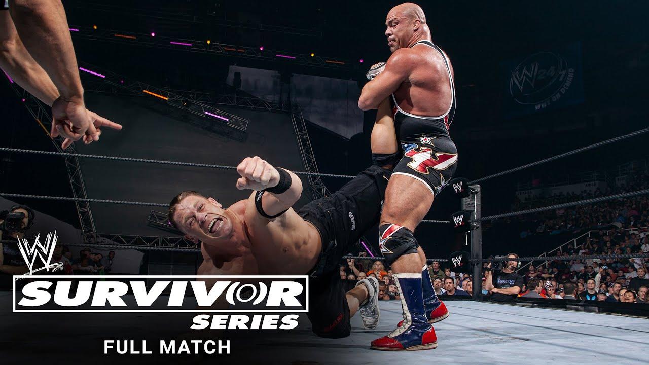 FULL MATCH - John Cena vs. Kurt Angle - WWE Title Match: Survivor Series 2005