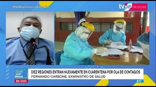 Café con Noticias | Fernando Carbone, exministro de Salud