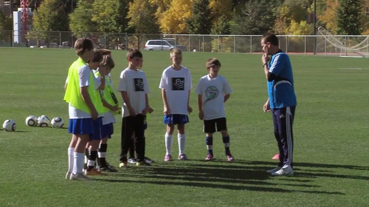 Soccer Training Defending Drills 1