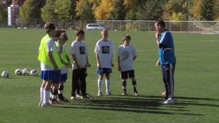 Soccer Training - Defending Drills 1
