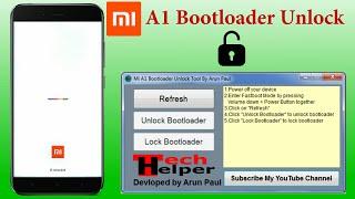 Mi A1 One Click Bootloader Unlocklock