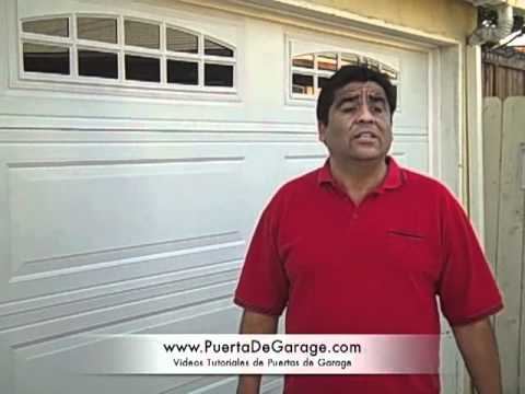 Puerta De Garage Seccional Tutorial - YouTube