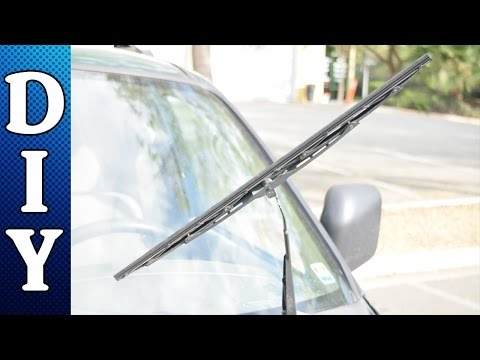 How to Replace Windshield Wiper Blades - Quick and Easy Method