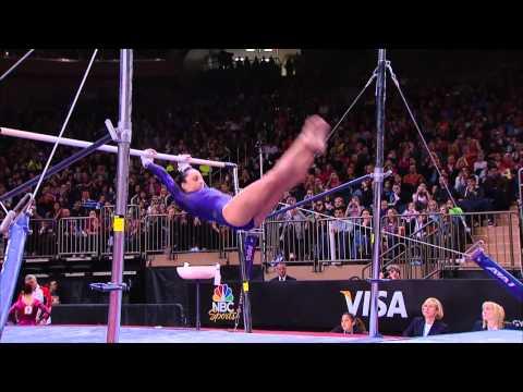 Jordyn Wieber - Uneven Bars - 2012 AT&T American Cup