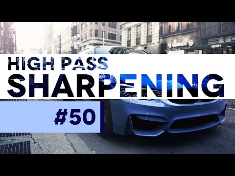 #PSin30 - High Pass Sharpening in Photoshop