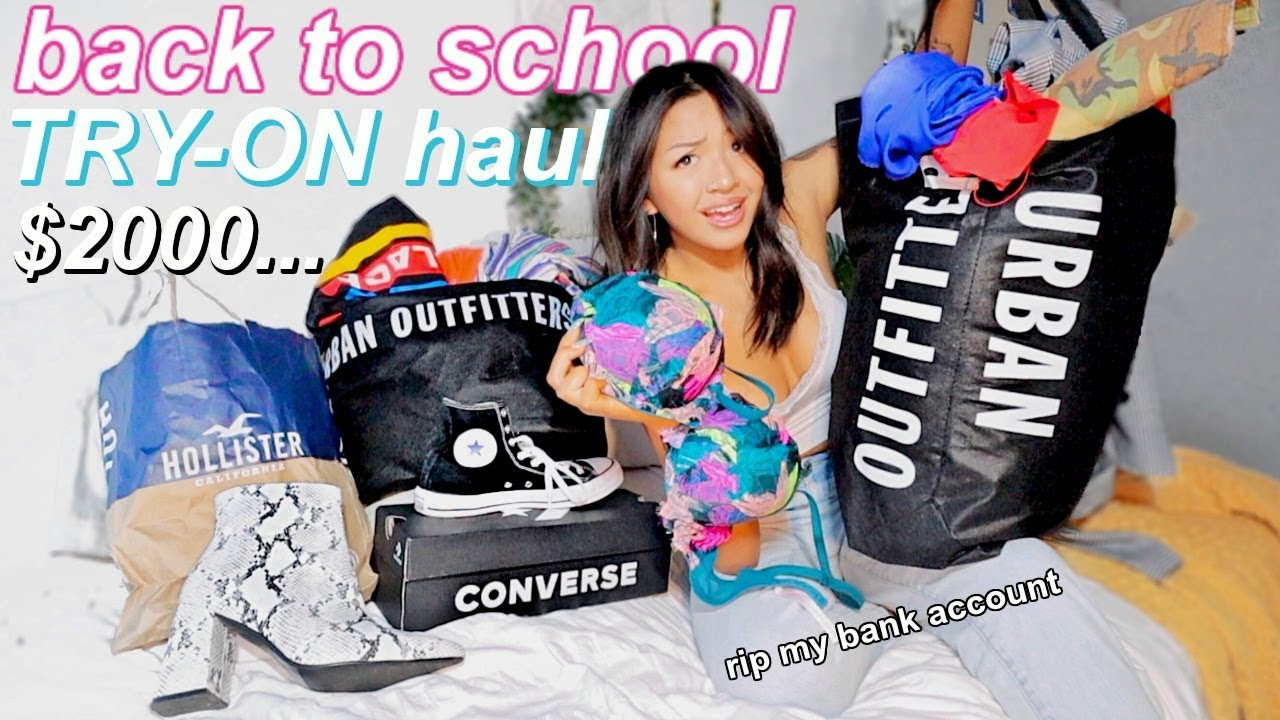 BACK TO SCHOOL TRY-ON CLOTHING HAUL | JUNIOR YEAR 2019 8
