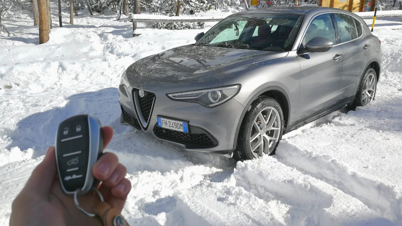 Is The Alfa Romeo Stelvio A Good Suv Road Test Review Youtube