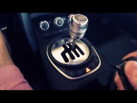 Audi R8 V10 Manual Transmission (Gated Shifter)