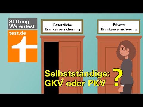 Krankenversicherung Für Selbständige: Privat Oder Gesetzlich? Vergleich PKV Vs GKV Für Freiberufler