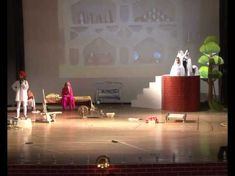 The students of The Millennium School, Patiala presented a Punjabi Play 'Chirian Da Chamba'