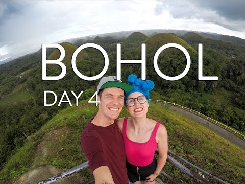 TARSIERS | THE CHOCOLATE HILLS | BOHOL - VLOG DAY 4: THE PHILIPPINES