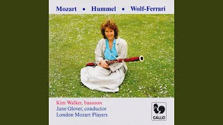 Bassoon Concerto in F Major, WoO 23, S. 63: II. Romanza, andantino e cantabile