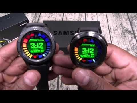 Samsung Gear Sport And Icon X 2018 Unboxing And First Impressions