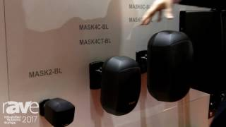 ISE 2017: Apart Audio Talks About MASK4C-BL and MASK6C-BL Cabinet Speakers