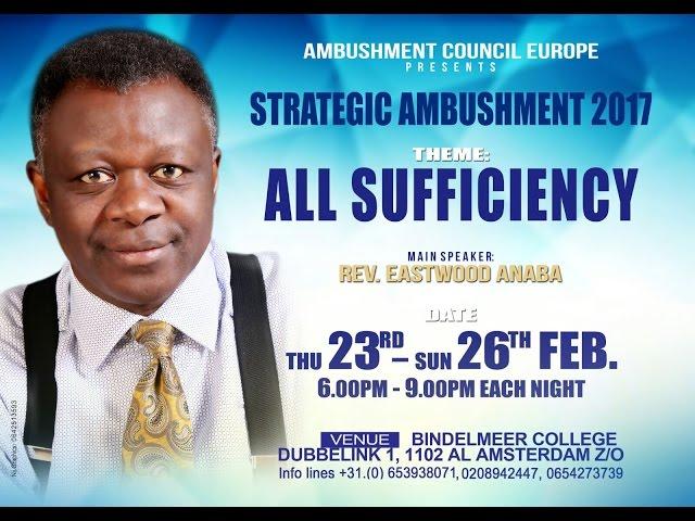 Rev Eastwood Anaba The Power to Love Ambushment Europe