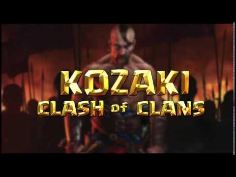 Лого, Logo Clash of Clans создаем в photoshop