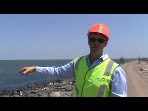 Scott McKinnon, Senior Environmental Coordinator for th Port of Brisbane Corporation