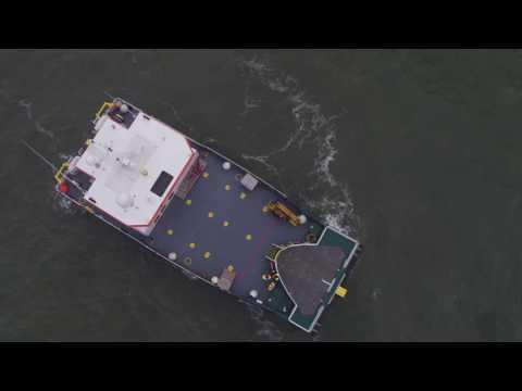 The Rix Lion Crew Transfer Vessel Dudgeon Windfarm