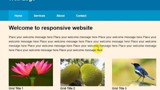 كيفية إنشاء HTML و CSS تخطيط استجابة الجزء-2 (البنغالية)