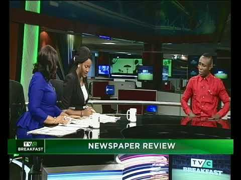 TVC Breakfast 12th Feb. 2018 | Newspaper Review